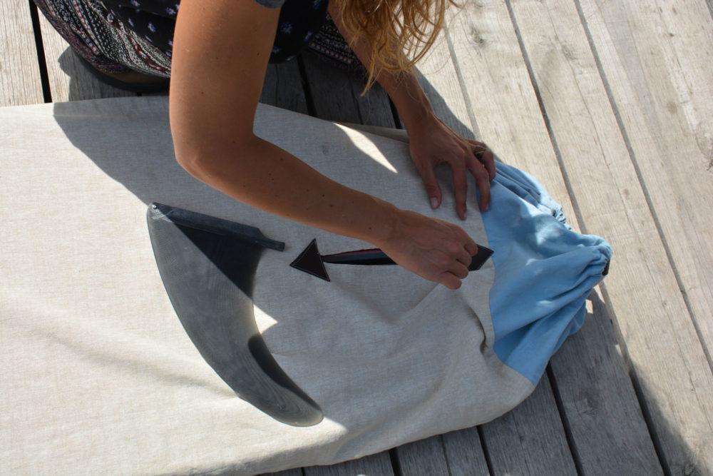 Single fin Boardbag - Fede Surfbags