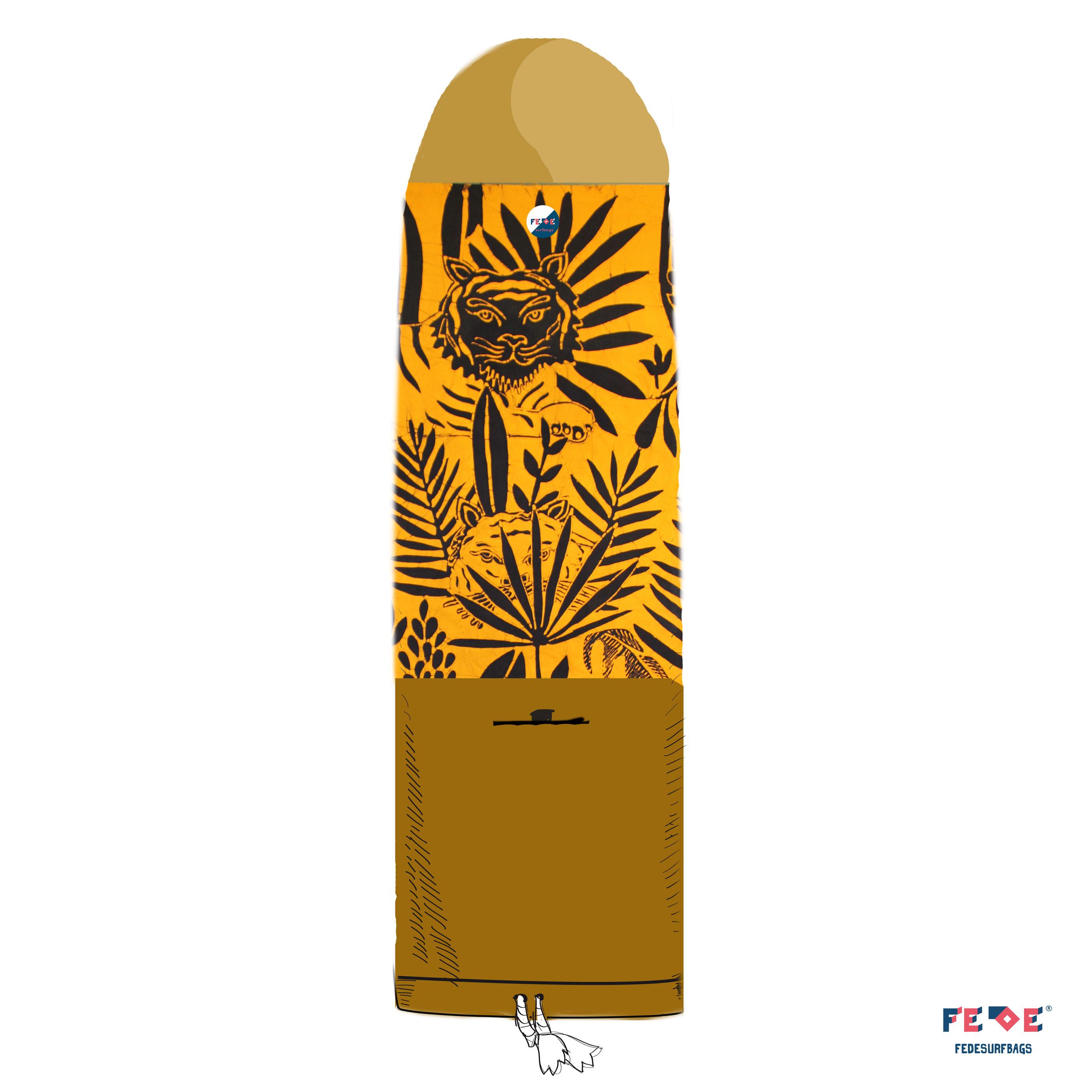 handmade batik surfbag