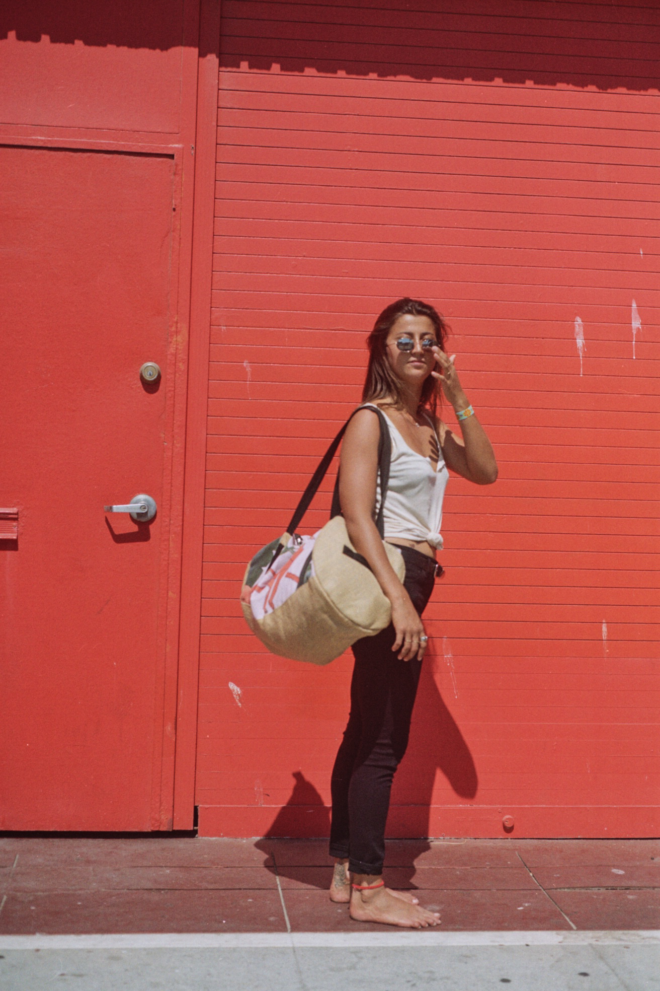 Lola Mignot x Fede Surfbags