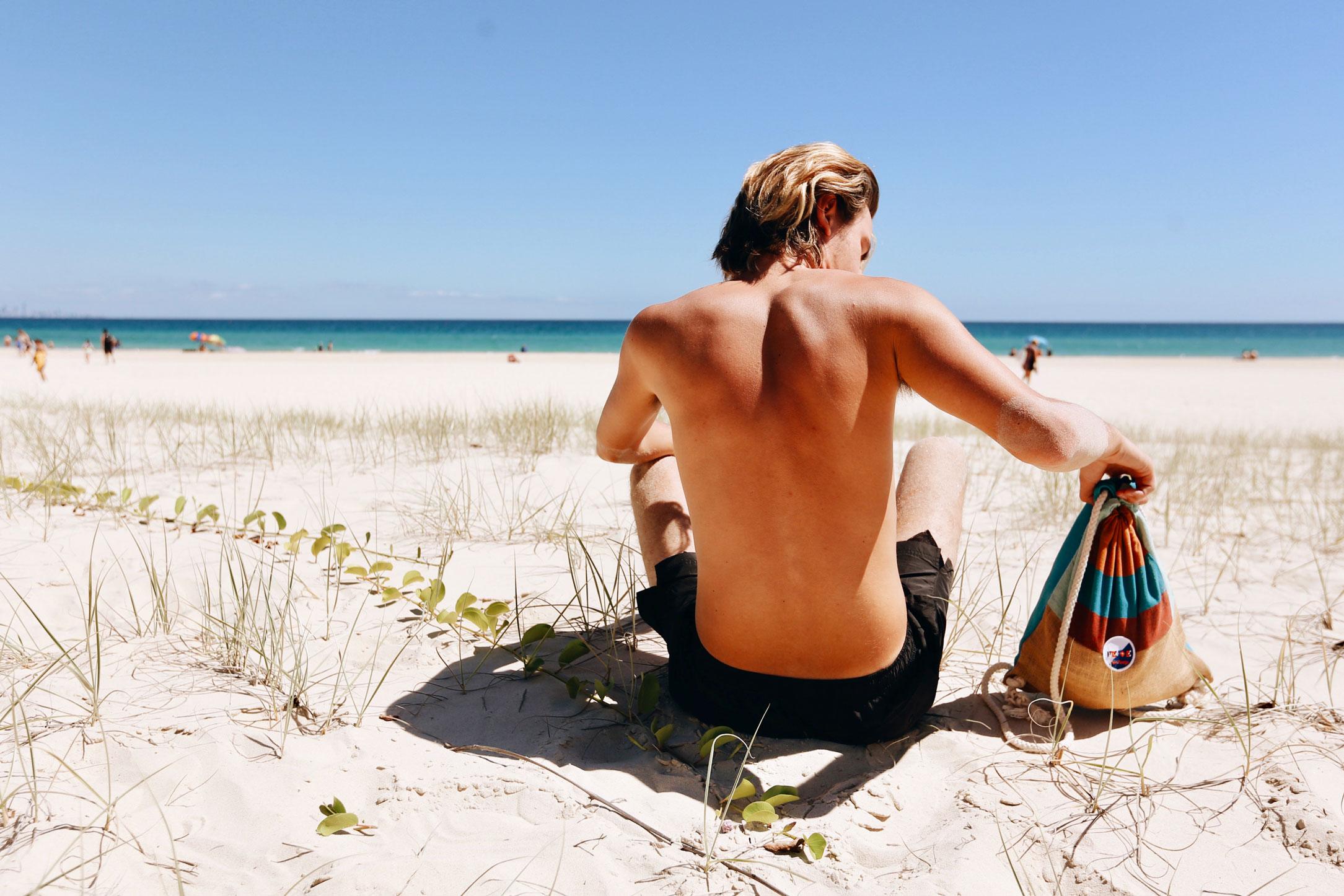 Beach sack by FedeSurfabags