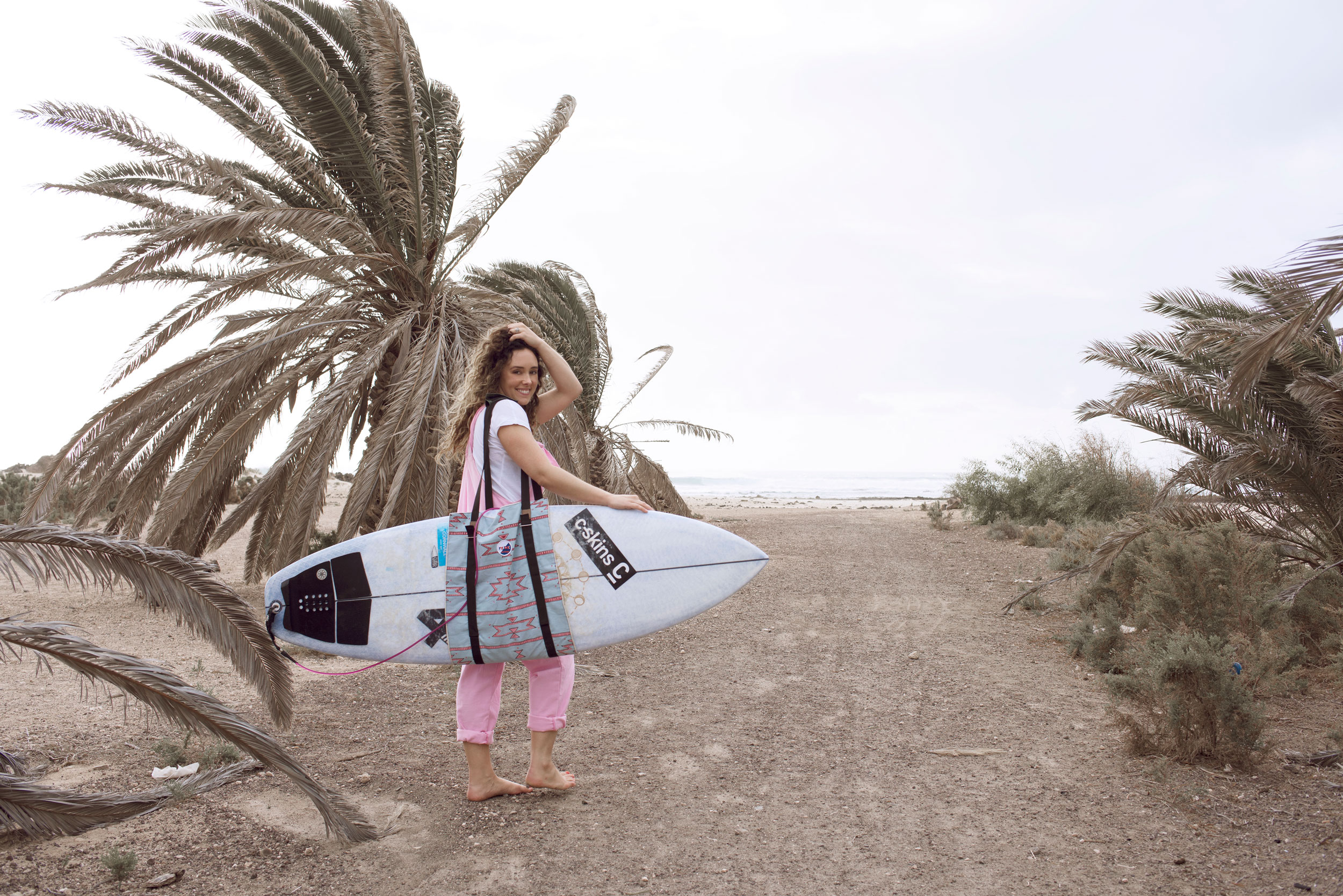 Corinne Evans x Fede Surfbags