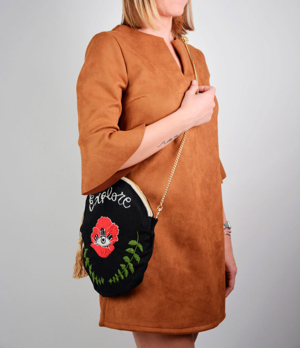 Rounded Chain Bag - Fede Surfbags