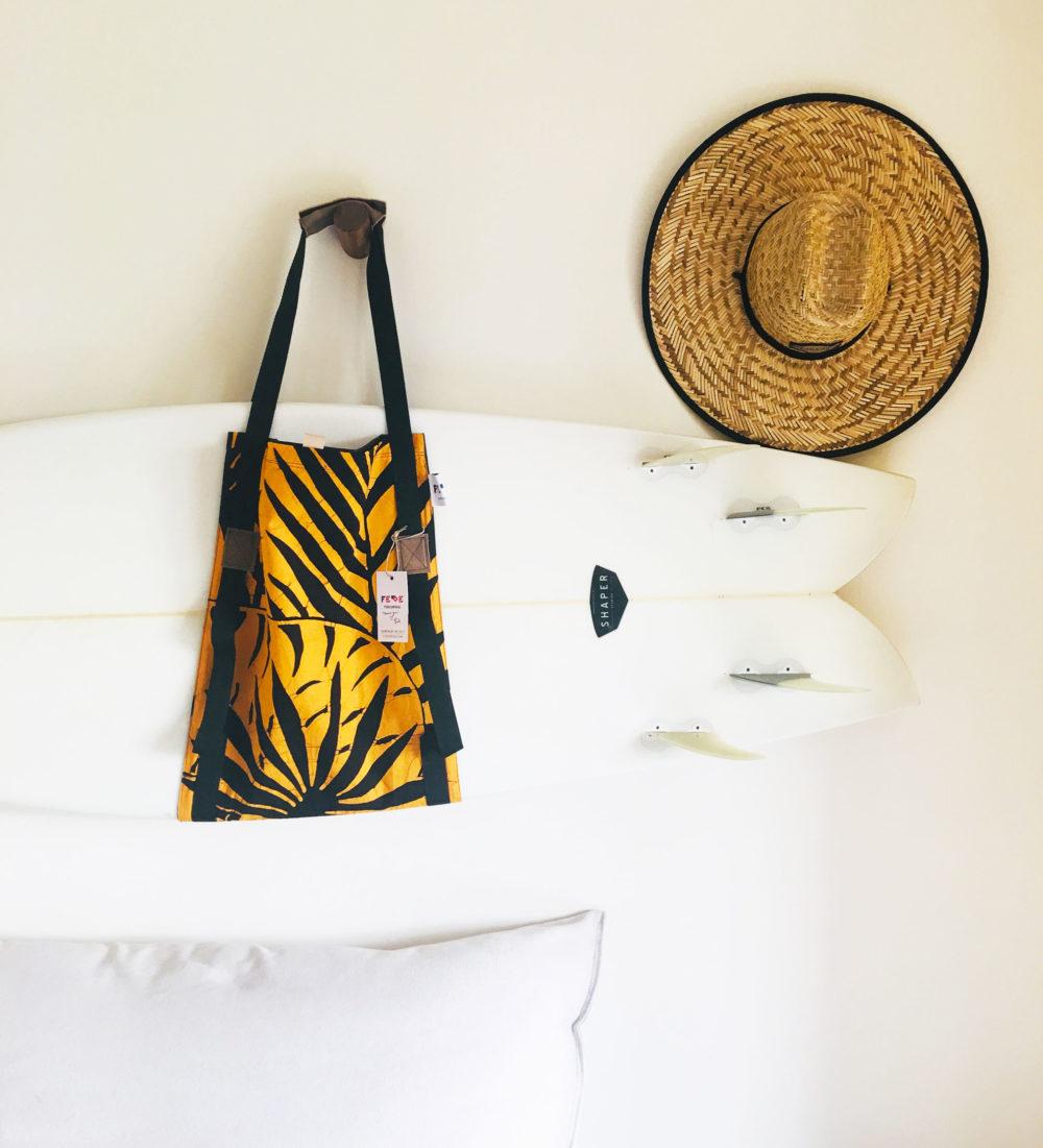 Batik Surf Sling Bag by Fede Surfbags. Surfboard Carrier