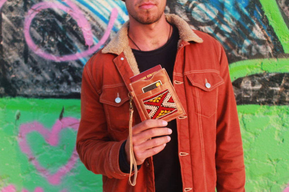 Leather Passport Wallet by Fede Surfbags