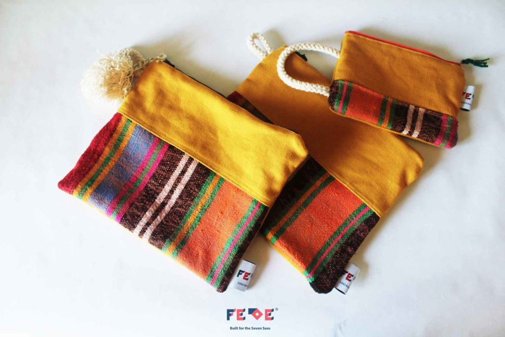 Yellow Colorful Clutches