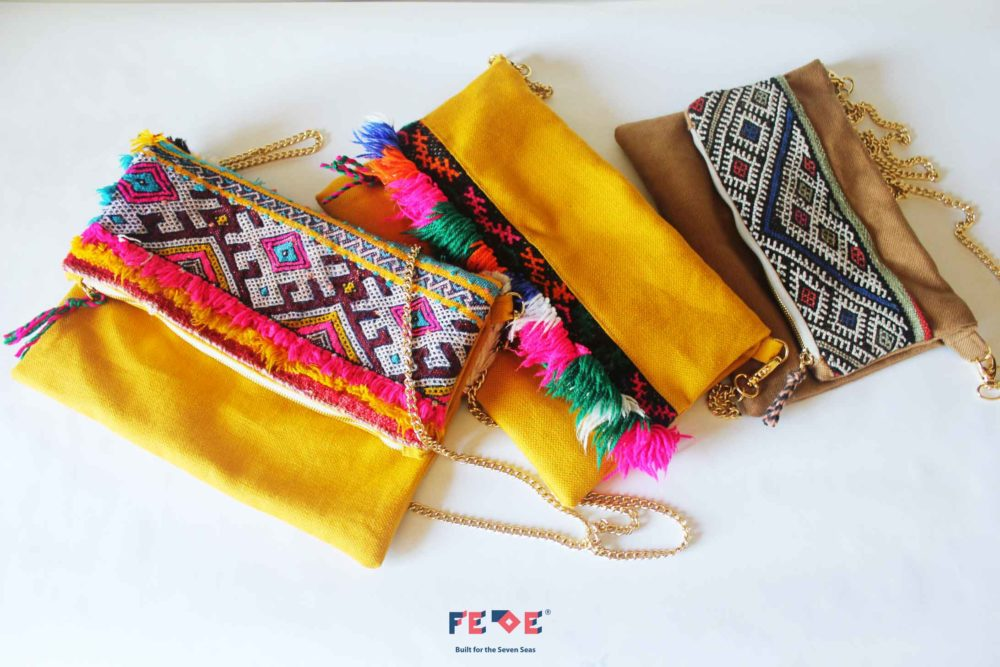 Colorful CrossBody Chain Bag