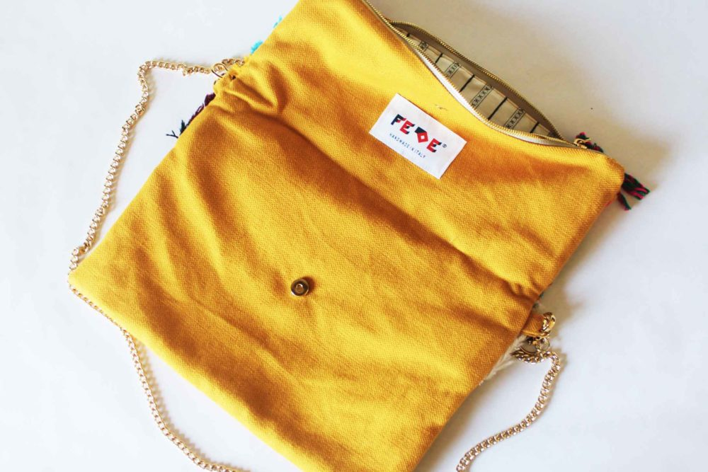 Colorful Cross Body Chain Bag by Fede Surfbags