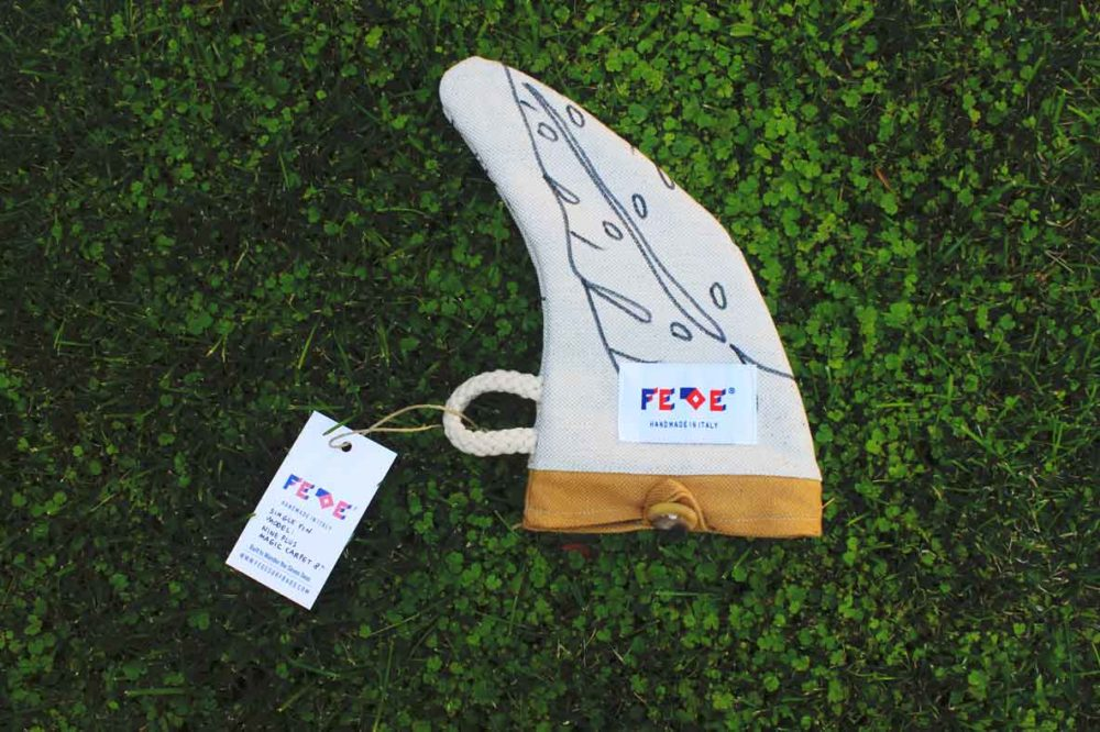 "Tropical Fin Cover 7"" - Surfboard Fin Pouches by Fede Surfbags"