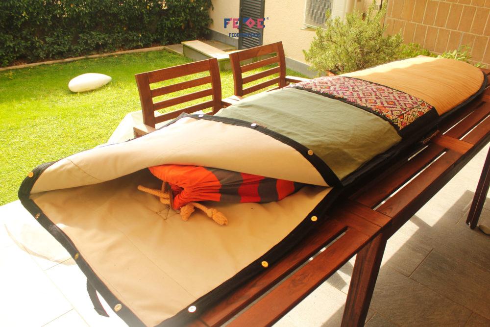 Padded Travel Surfboard Bag - Better Than New - Fede Surfbags