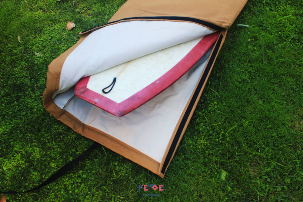 Padded Travel Surfbag by Fede Surfbags