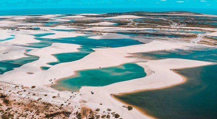 Kitesurf in Jericoacoara Brazil - Kite Spot - FedeSurfbags