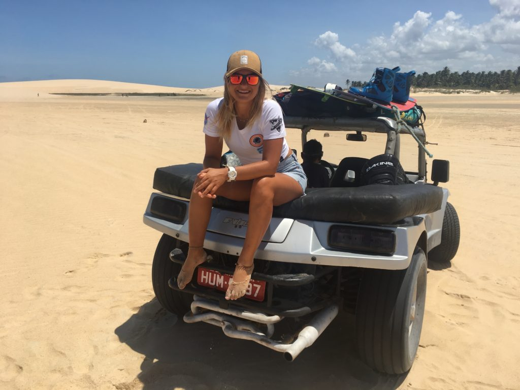 Kitesurf in Jericoacoara, Brazil - Kite Spots - Buggies - Fede Surfbags