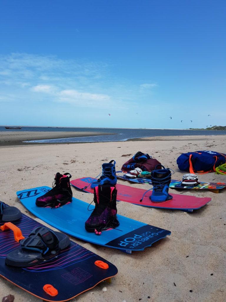 Kitesurf in Jericoacoara Brazil - Kite Spots - Fede Surfbags