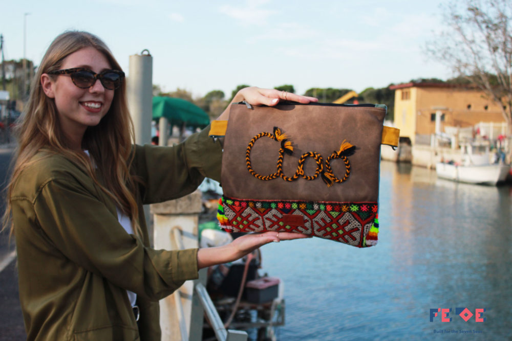 Padded Maxi Clutch Bag - Ciao by Fede Surfbags