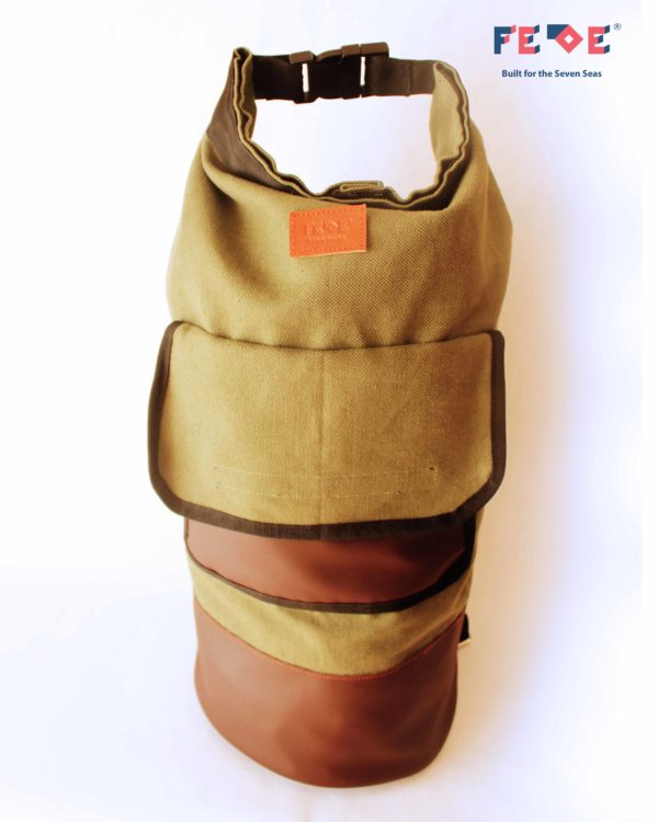 olive green Fede Duffle Bag by FedeSurfbags