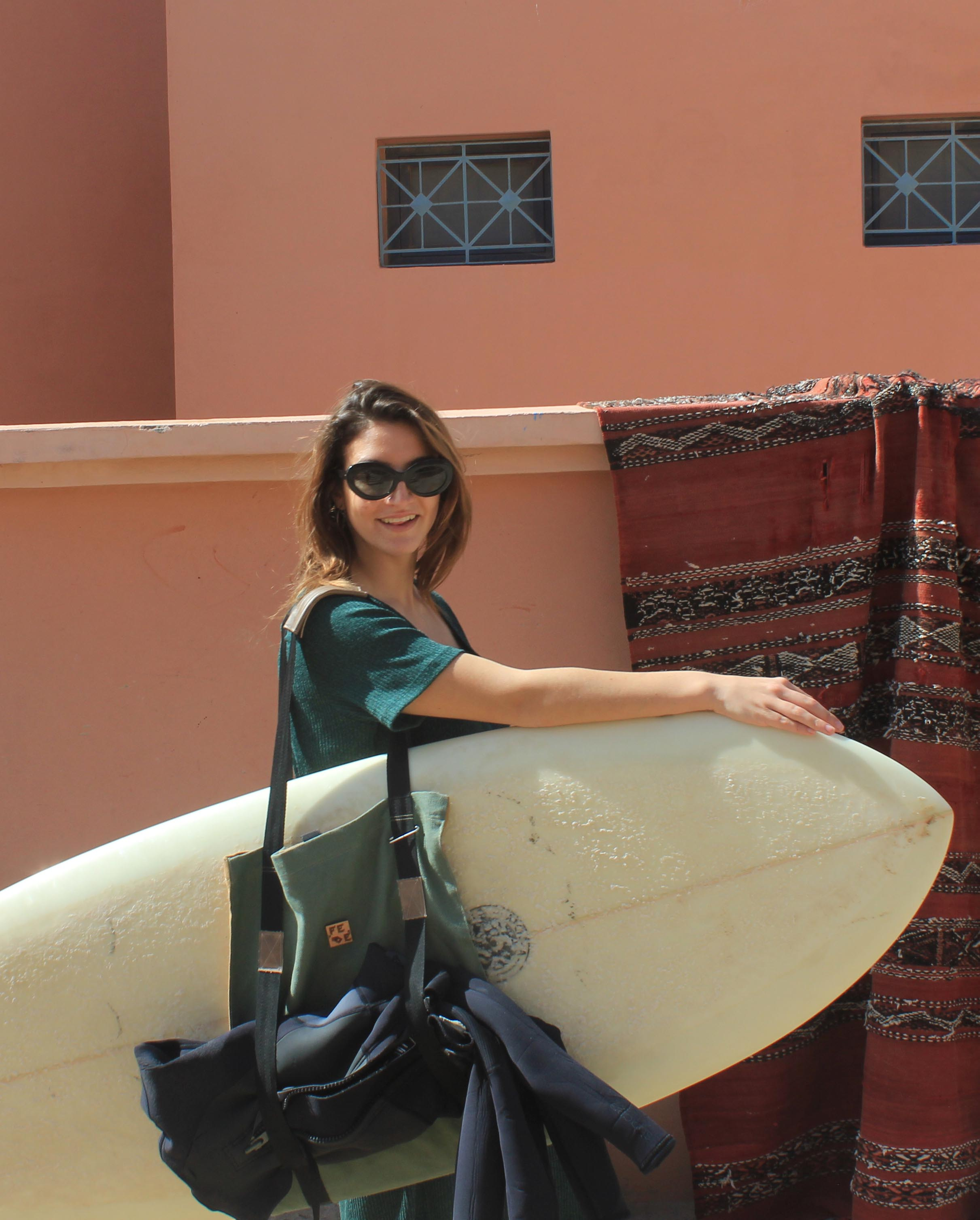 Surfboard carrier - Longboard Bag by Fede Surfbags