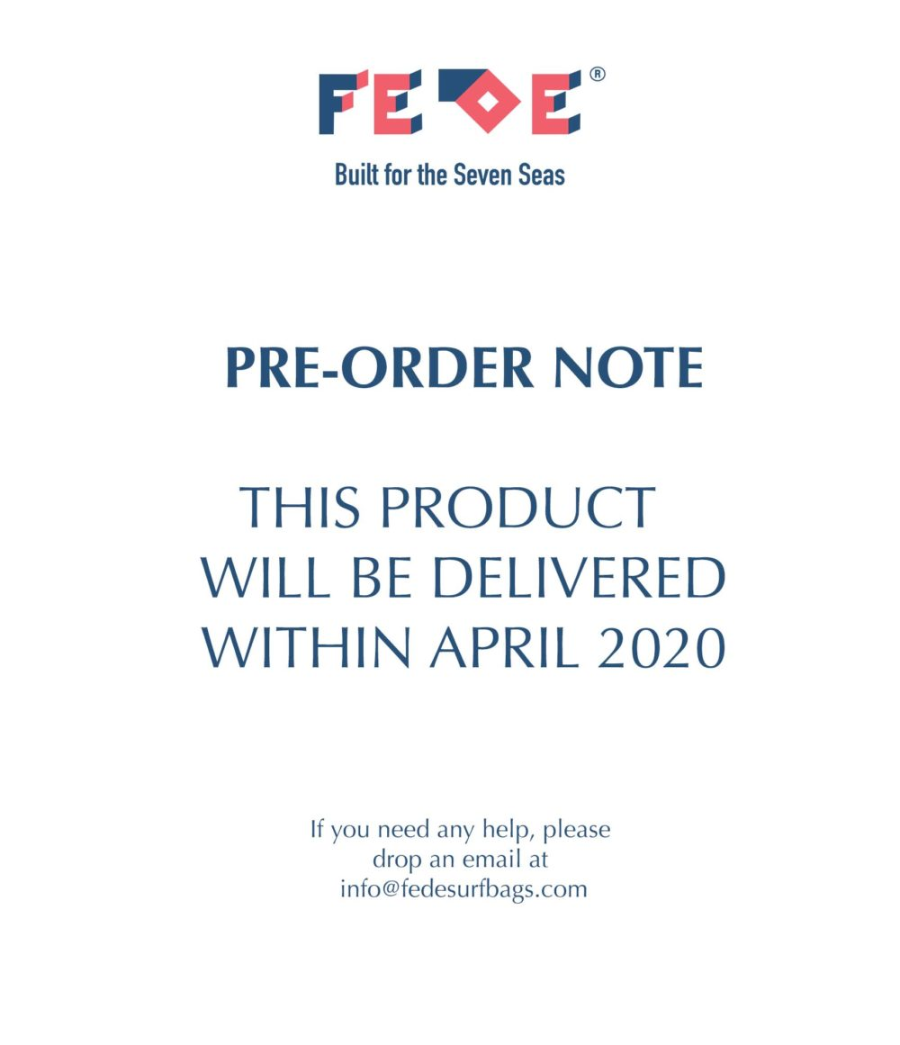 PRE ORDER by Fede Surfbags