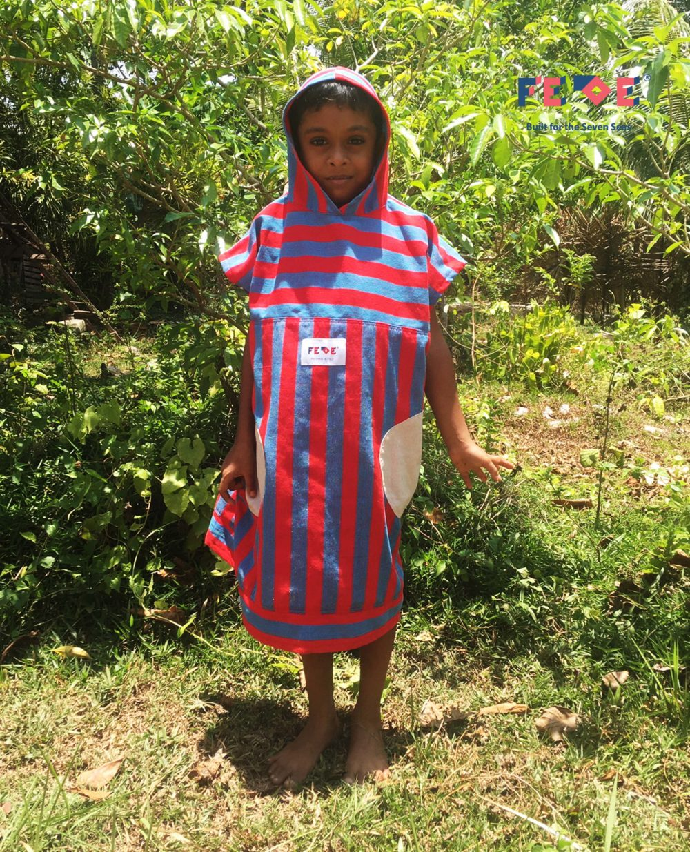 Kids Poncho and Changing Rope