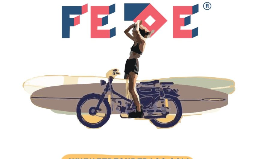 FEDE Wheels and Waves Stickers - Fede Surfbags