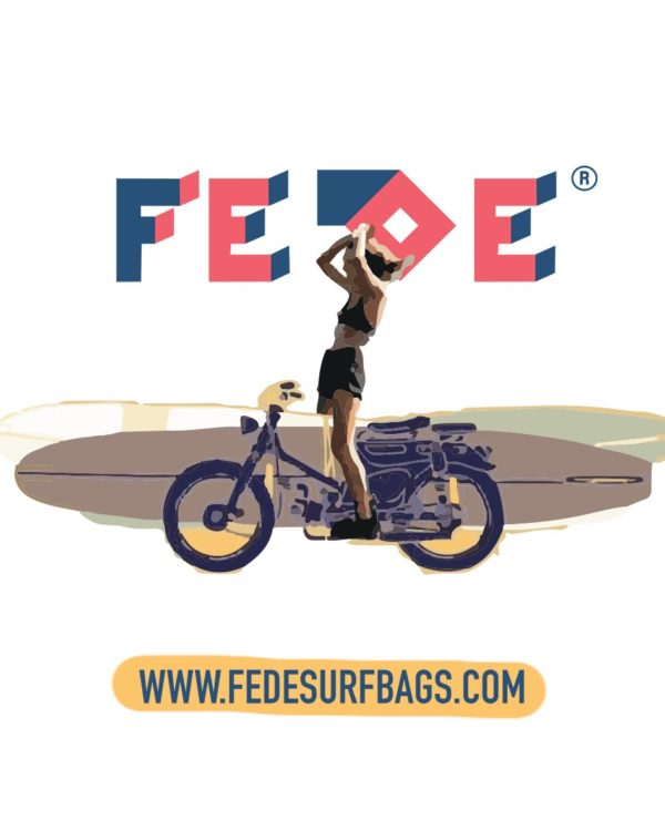 Fede Surfbags Wheels And Waves Exterior Stickers