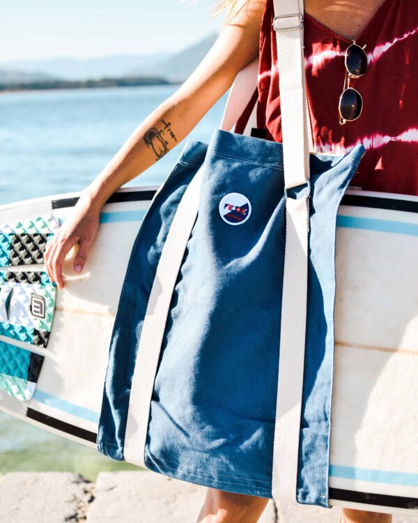 Surfboard Carrier - Surf Sling Bag by Fede Surfbags. Handmade in Italy