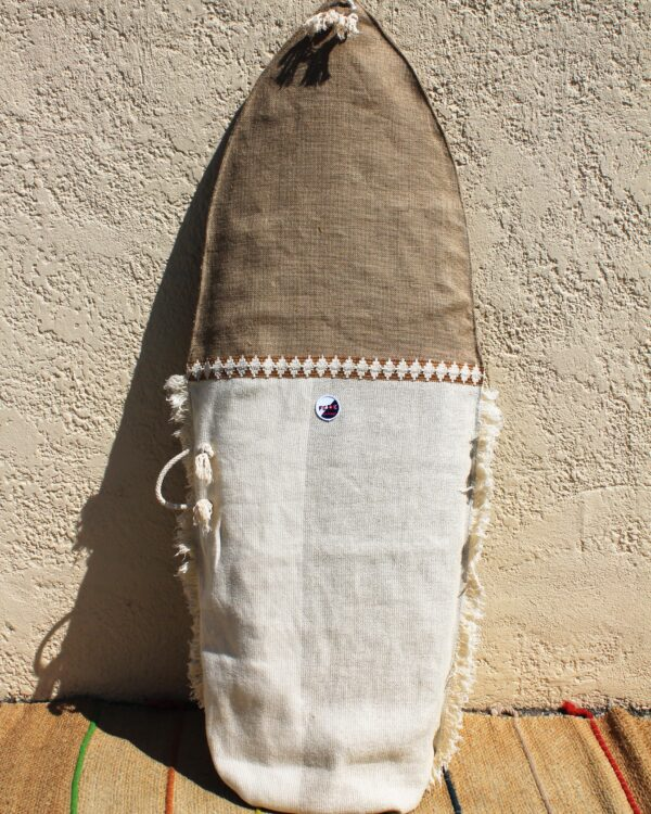 Sustainable Canvas Surfboard Bags. Handmade in Italy by Fede Surfbags