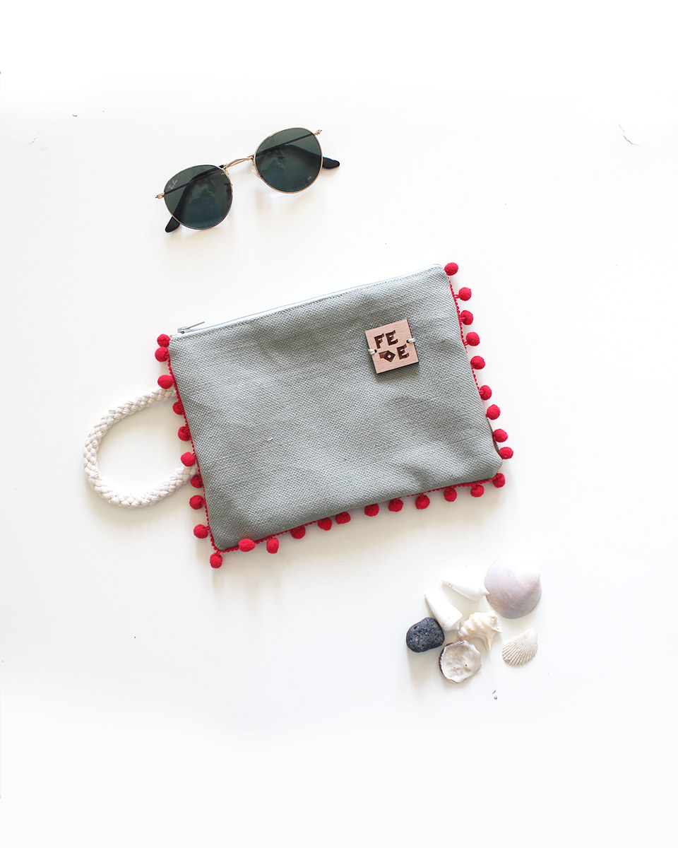 Cotton and Rope Sustainable Canvas Pochette