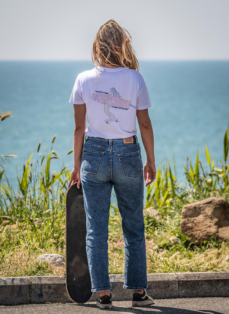 White Organic Cotton Shirt - Fede