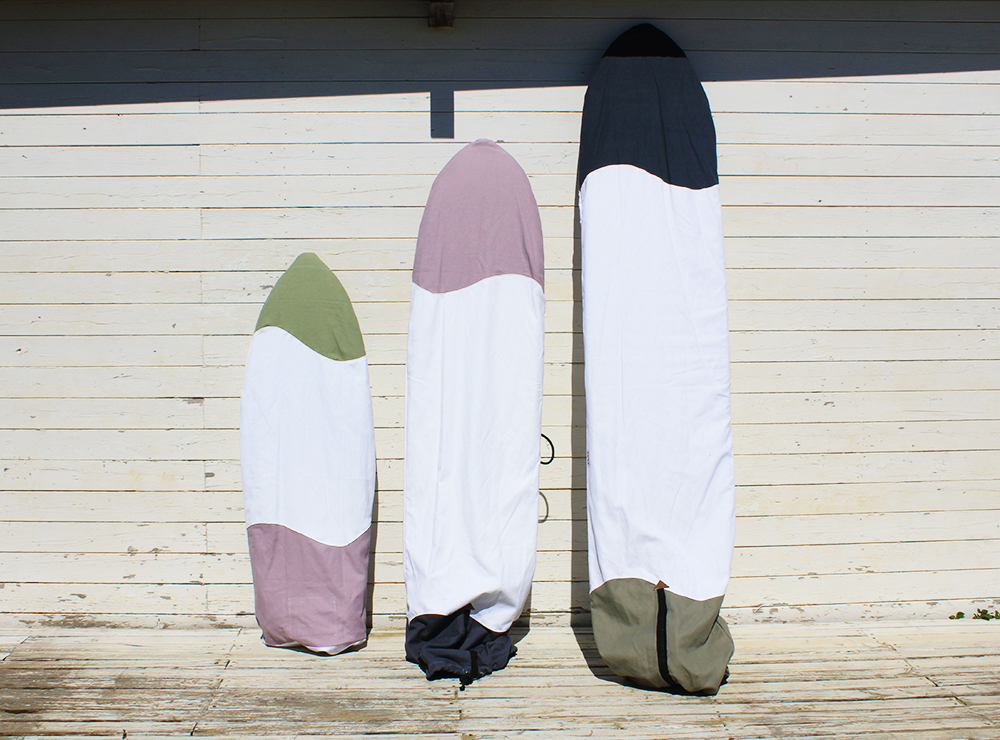 SUSTAINABLE CANVAS SURFBOARD BAG by Fede Surfbags