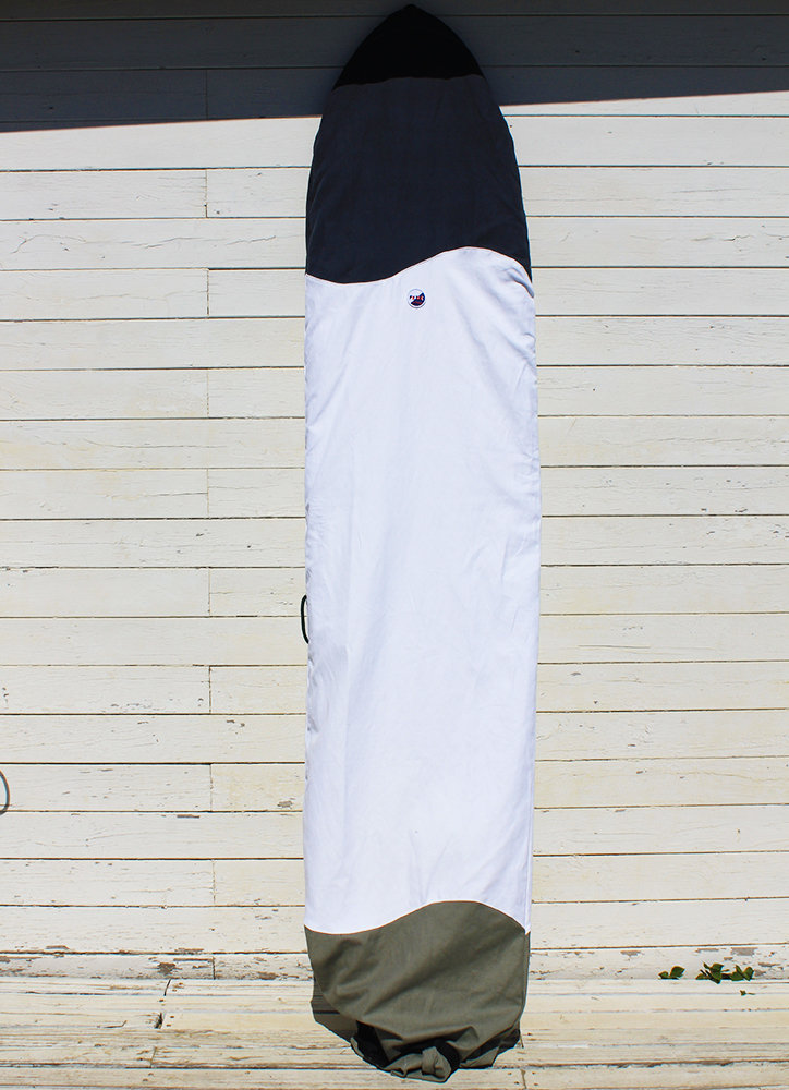 SUSTAINABLE CANVAS SURFBOARD BAG - Longboard Cover 9 to 10 by Fede Surfbags